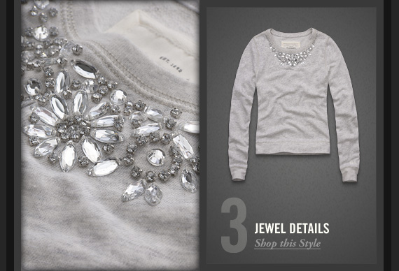 3 JEWEL  DETAILS     Shop this Style