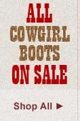 All Cowgirl Boots on Sale
