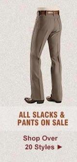 All Slacks on Sale