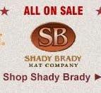 All Shady Brady Straw Hats on Sale