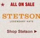 All Stetson Straw Hats on Sale