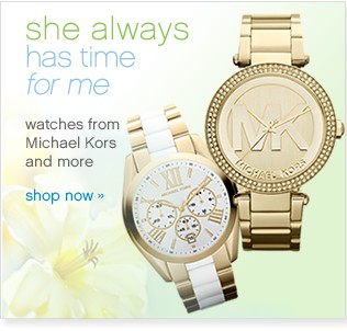 Watches from Michael Kors and more. Shop now.