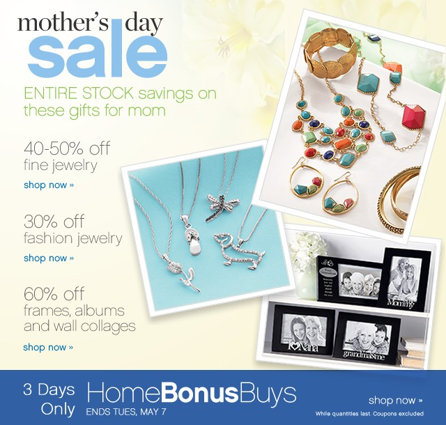 Mother's Day Sale. Savings on gifts Moms love.