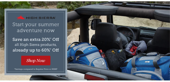 Shop High Sierra Luggage