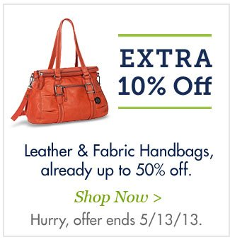 Shop Fabric & Leather Handbags