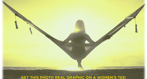 Get This Photo Real Graphic On A Women's Tee!