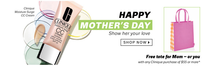 Happy Mother's Day. Show her your love. Shop Now.