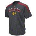 Chicago Blackhawks Red Marled Cool Base™ All Polished Synthetic Peformance T-Shirt