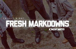 Fresh Markdowns: Denim
