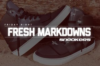 Fresh Markdowns: Sneakers