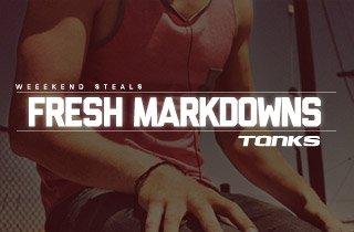Fresh Markdowns: Tanks