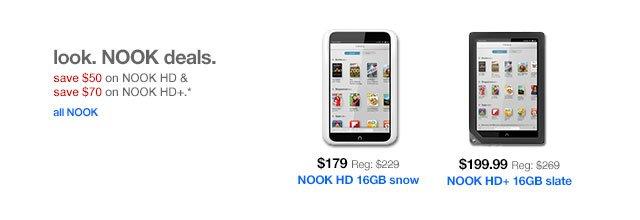 Look. NOOK deals.