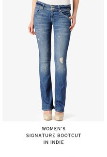 Women's Signature Bootcut in Indie
