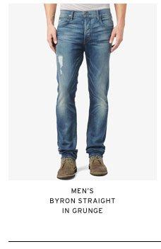 Men's Byron Straight in Grunge
