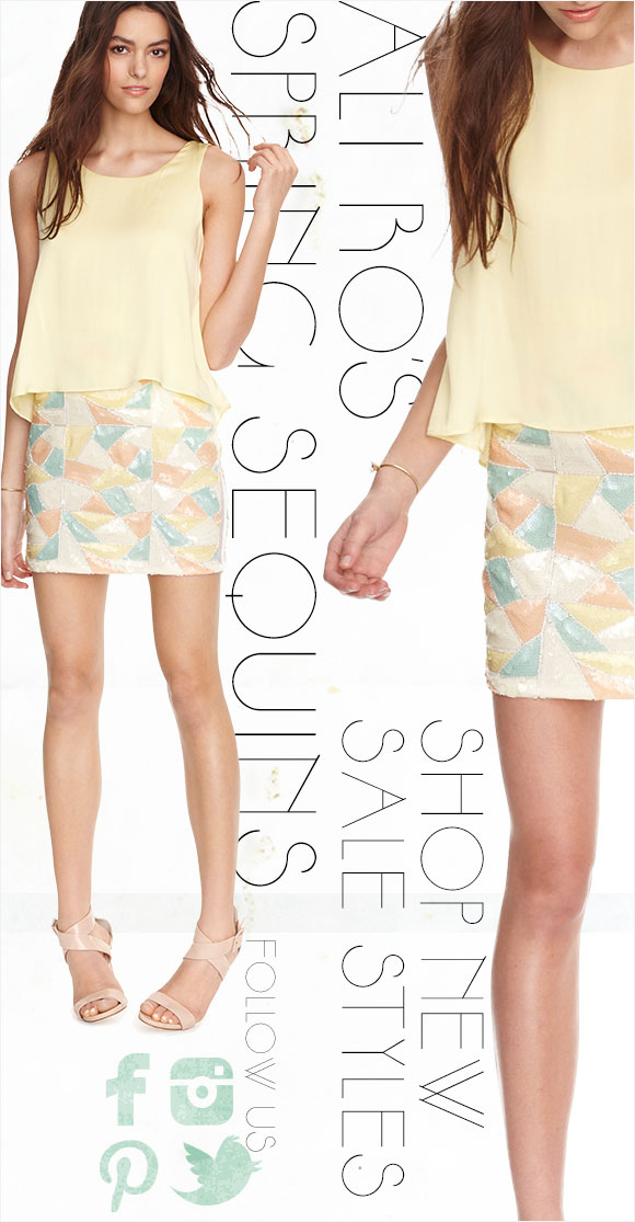 Ali Ro's Spring Sequins
