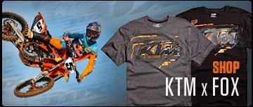 Shop KTM x Fox