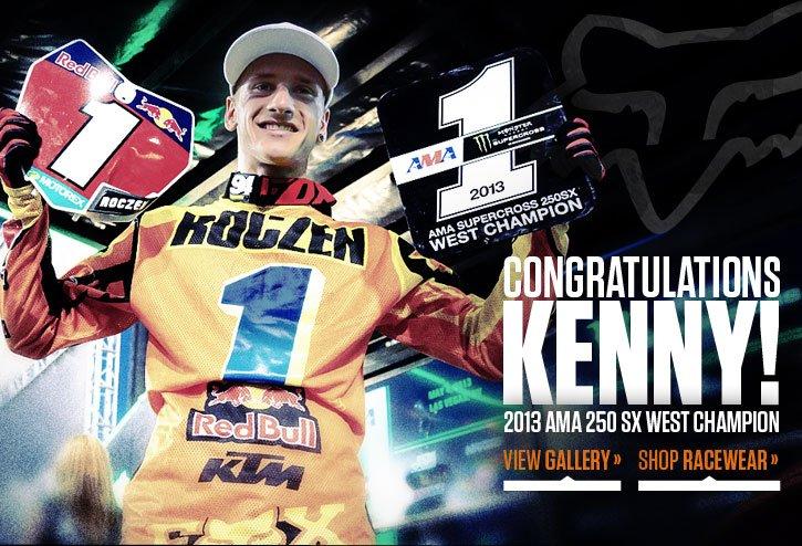 Congratulations to Ken Roczen!
