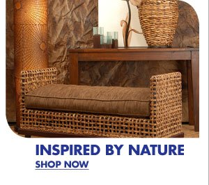 INSPIRED BY NATURE SHOP NOW
