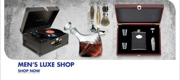 MEN'S LUXE SHOP SHOP NOW