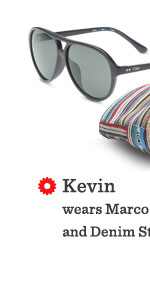 Black Marco  Eyewear