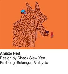 Amaze Red - Design by Cheok Siew Yen  / Selangor, Malaysia