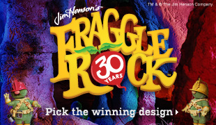 Fraggle Rock - Pick the winning design.