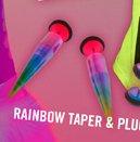 RAINBOW TAPER & PLUG PACK