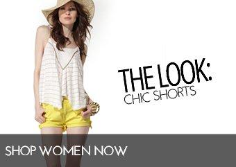 WOMENS SHORT SHOP