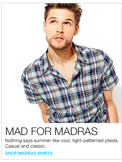 MAD FOR MADRAS | SHOP MADRAS SHIRTS
