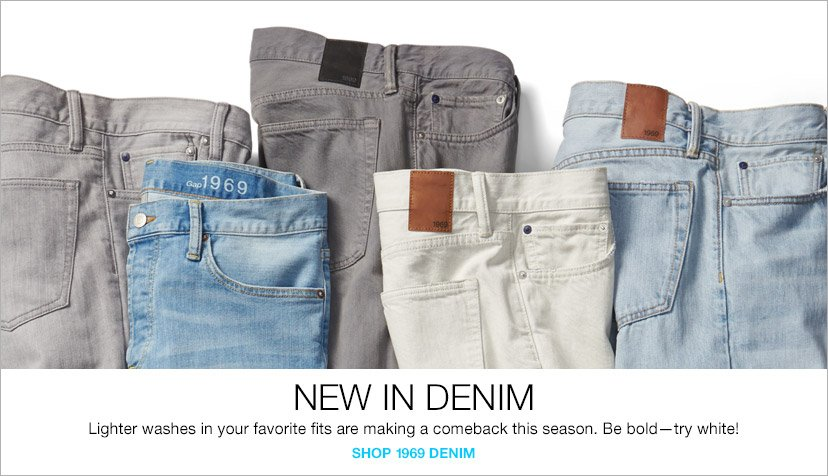 NEW IN DENIM | SHOP 1969 DENIM