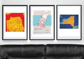 Shop Posters ft. Maps, Movies & More
