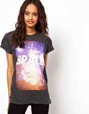 ASOS T-Shirt with Space Print