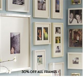 30% OFF ALL FRAMES