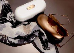 Brand Too Hot to Mention: Designer Scarves & Sunglasses