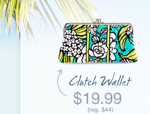 Clutch Wallet - $19.99