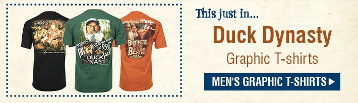 This Justi In... Duck Dynasty Graphic T-Shirts - Shop Men's Graphic T-Shirts