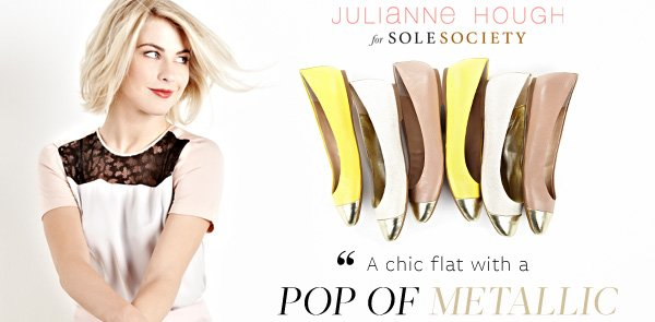 Julianne Hough for Sole Society