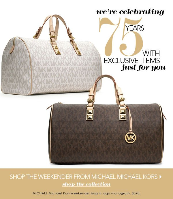 New & just for you! MICHAEL Michael Kors exclusive