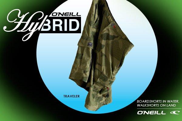 Meet the new O'Neill Summer Hybrids!