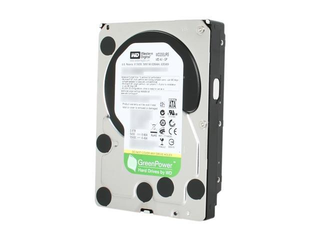 Western Digital WD AV-GP WD20EURS 2TB 64MB Cache SATA 3.0Gb/s 3.5 inch Internal Hard Drive -Bare Drive - OEM