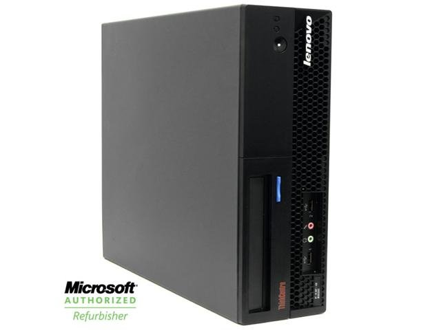 Refurbished: Lenovo ThinkCentre M57 Desktop Computer - 2.33GHz Core2 Duo/ 6GB Memory/ 160GB/ Windows 7 Professional 64