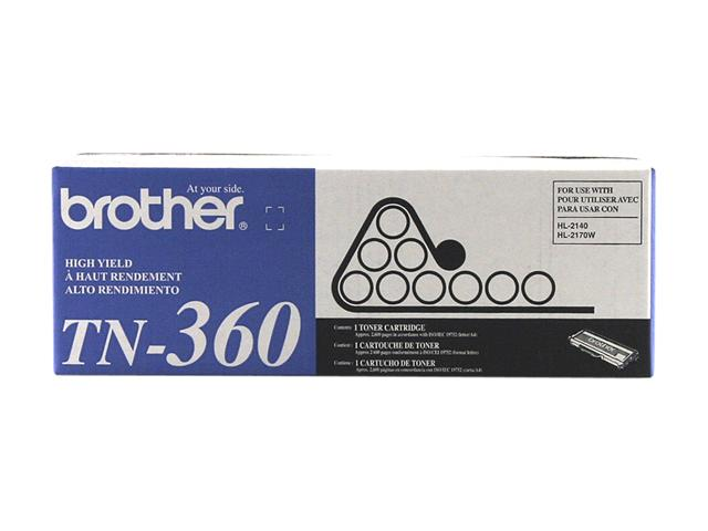 brother TN360 High Yield Toner Cartridge Black