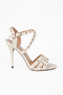 Straps and Studs Heels $37