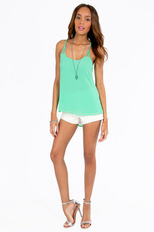 Tracy Back Tank Top $30