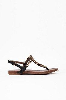 Classy Brassy Sandals $28