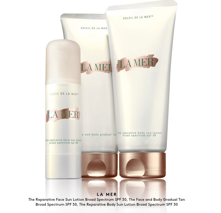 Get ready for your moment in the sun: SPF, sunless tanning and more from skincare favorite La Mer