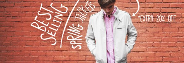 Shop Extra 20% Off: Best Spring Jackets