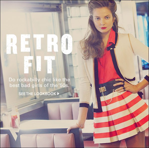 Do rockabilly chic like the best bad girls of the '50s. Shop now >>