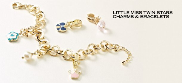 LITTLE MISS TWIN STARS CHARMS & BRACELETS, Event Ends May 10, 9:00 AM PT >