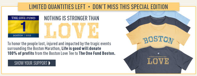Nothing is Stronger Than Love - Shop the Boston Love Tee